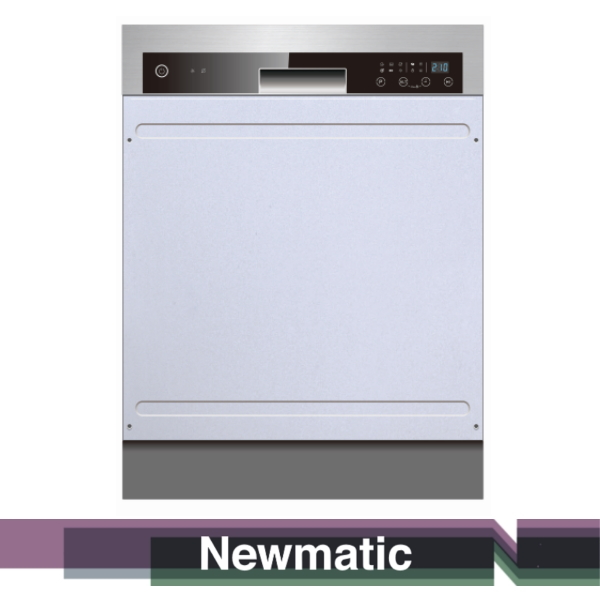 Newmatic DW12SNT Built In Dishwsher For Modern Kitchen Cabinet