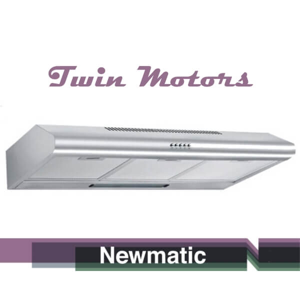 Newmatic H17.9 Kitchen Undermount Hood, Appliance For Built In Kitchen Cabinet