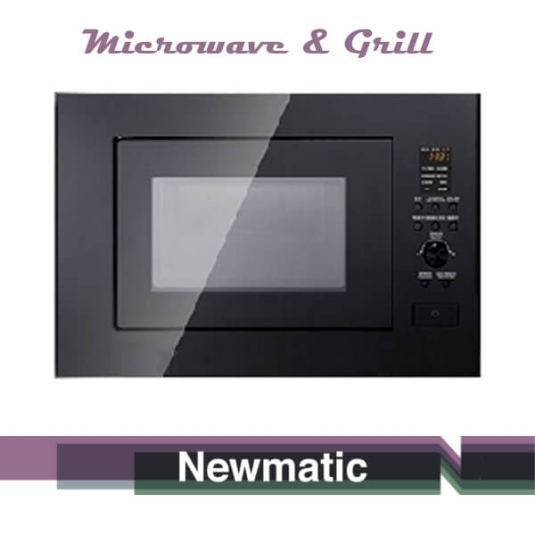 Newmatic EPS25 Built In Microwave Oven Doe Modern Kitchen Cabinet