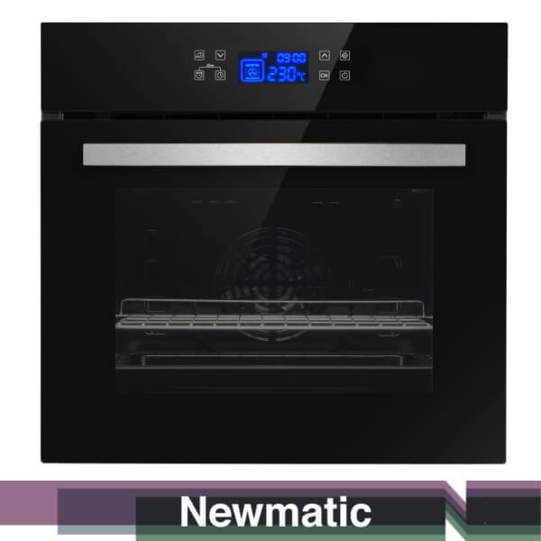 Newmatic FM612T Built In Electric Oven Modern Kitchen Cabinet