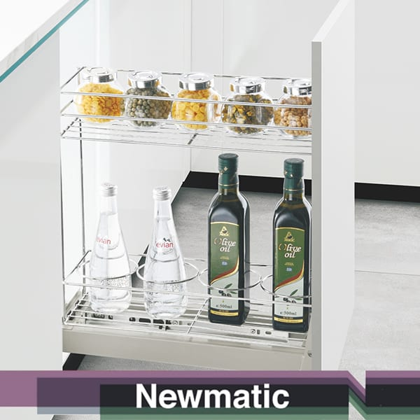 Newmatic Slim Pull Out Pantry For Kitchen Cabinet