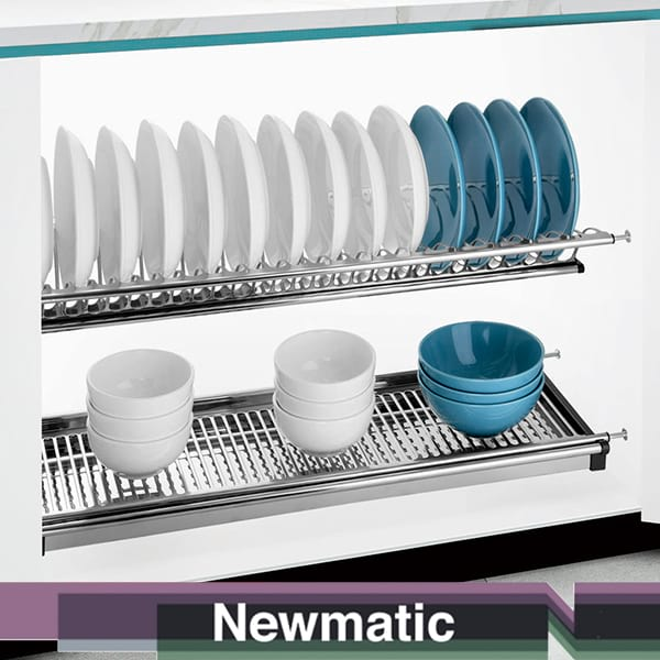Newmatic Dish Rack For Kitchen Cabinet