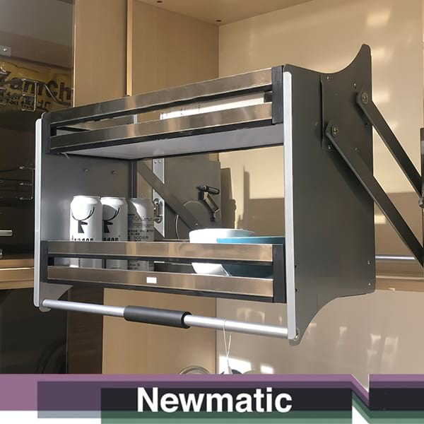 Newmatic Hydraulic Pull Down Pantry For Kitchen Cabinet